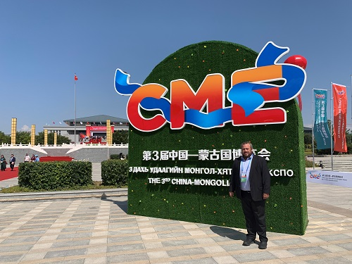 Proud to be part of the Israeli ag tech delegation to the third CME China Mongolia expo in inner Mongolia