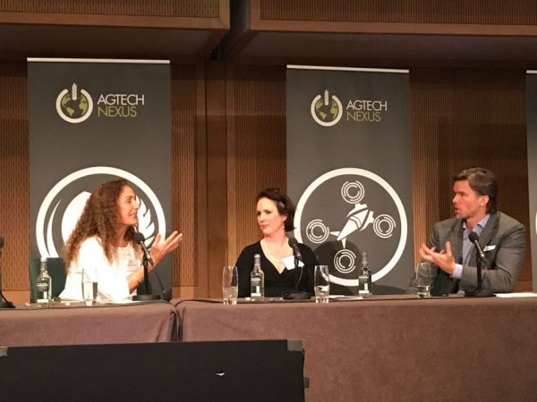Sharing our agtech passion at Agtech Nexus, 8 December, Dublin. From left: Trendlines Incubators Israel CEO Nitza Kardish, Yield Lab Europe General Partner Nicky Deasy, and moderator CEO and Managing Partner Radicle Growth Kirk Haney. What's the Israel-Ireland agtech connection?
