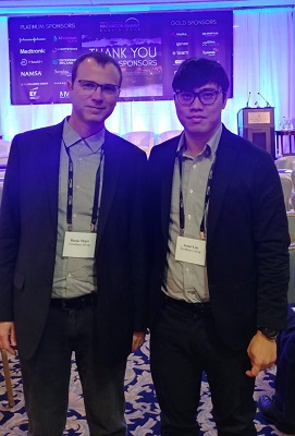 CEO Trendlines Incubators Israel Barak Singer and Trendlines Medical Singapore, Director, Business Ventures Lionel Lim at the Innovation Summit Dublin 2019, 9-11 April 2019.